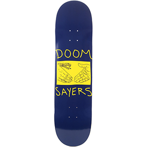 Doom Sayers Snake Shake Skateboard Deck 8.38