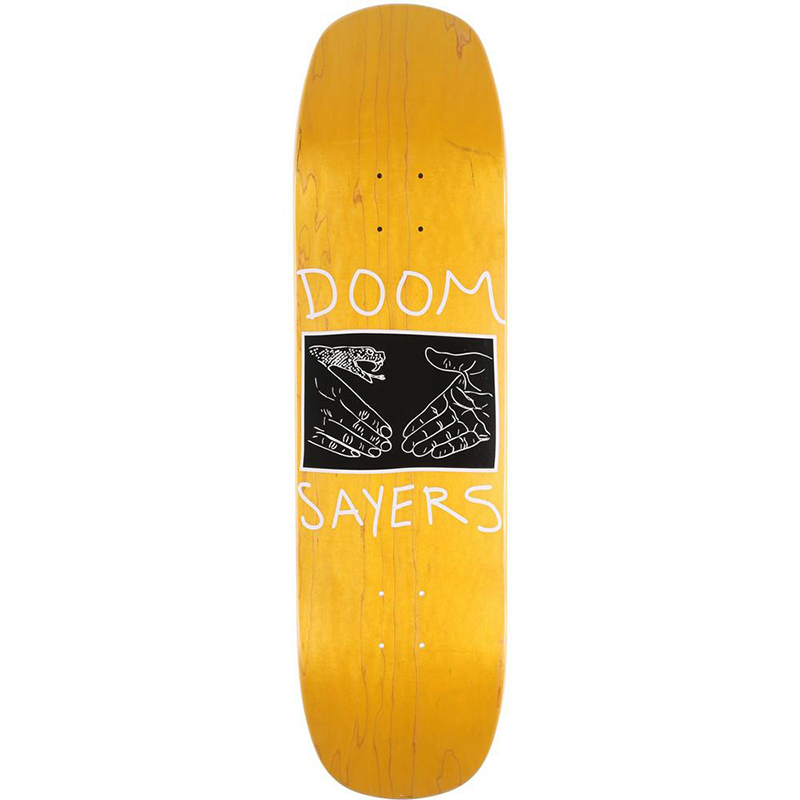 Doom Sayers Snake Shake Skateboard Deck 8.58