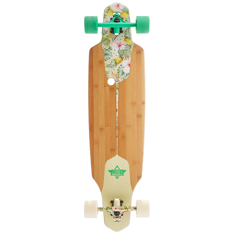 Dusters Channel Hawaiian Longboard 38.0 Green/Off White