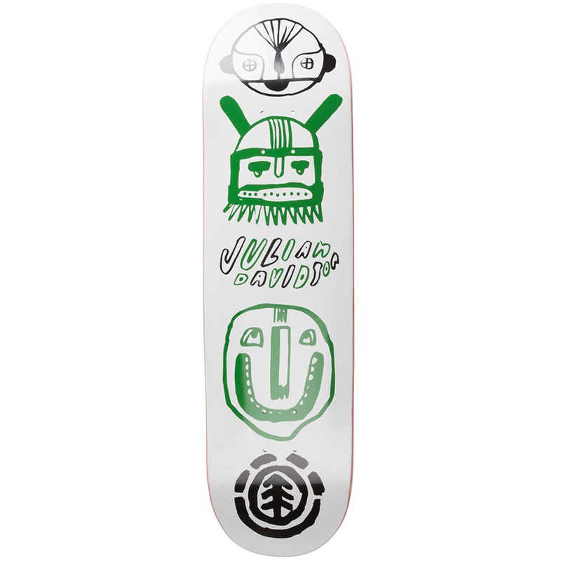 Element Julian Indigenous Skateboard Deck 8.25