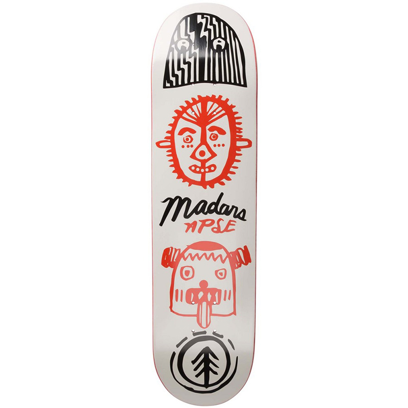 Element Madars Indigenous Skateboard Deck 8.0