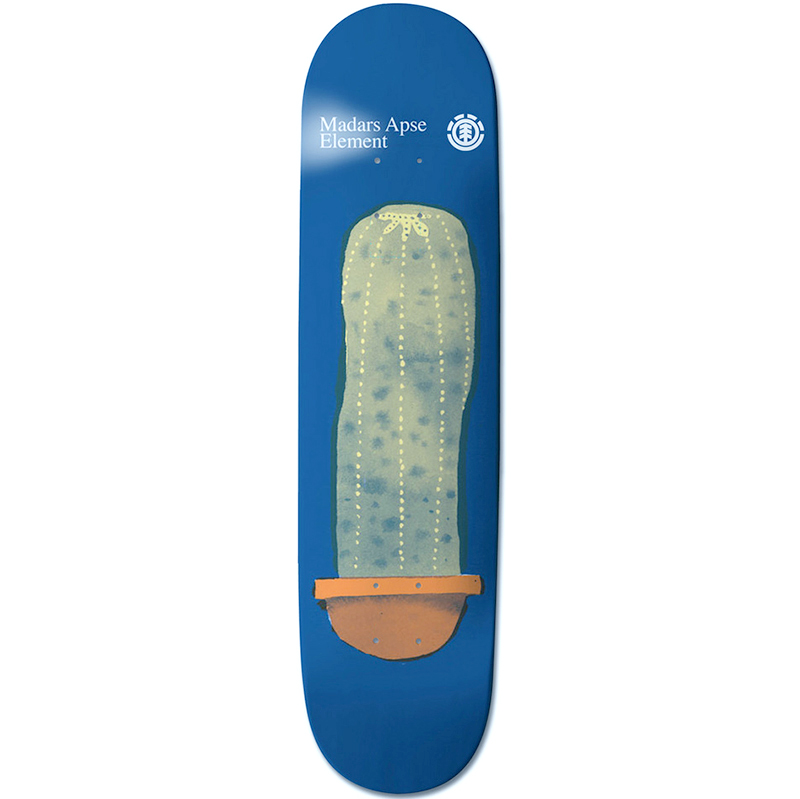 Element Madars Pots And Plants Skateboard Deck 8.2