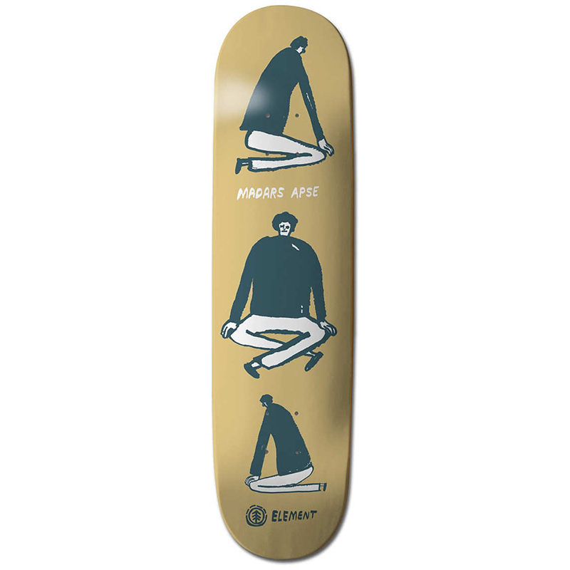 Element Madars Ways Skateboard Deck 8.3125