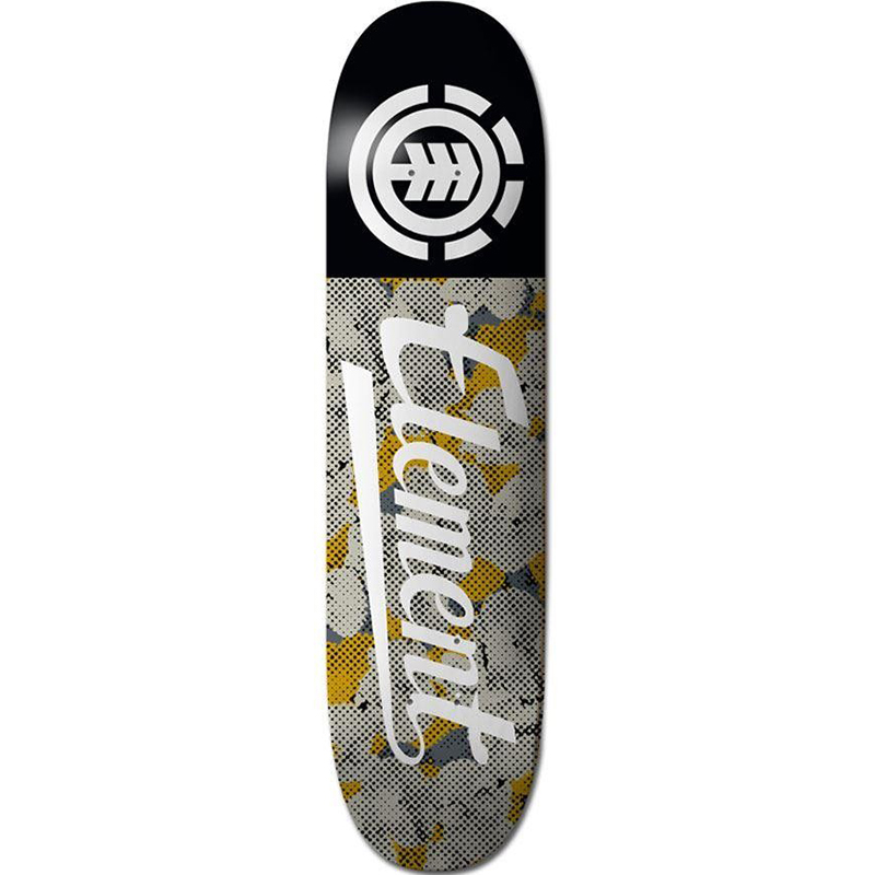 Element Script Skateboard Deck 8.25