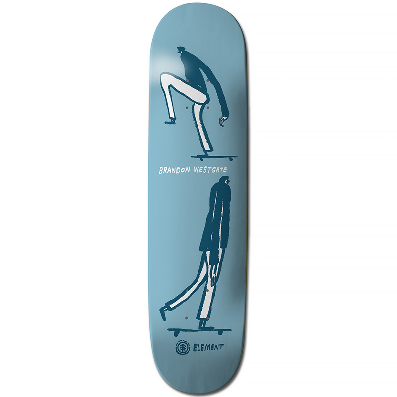 Element Westgate Ways Skateboard Deck 8.0