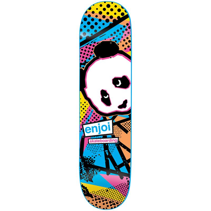 Enjoi 1985 Called R7 Blue Skateboard Deck 8.5