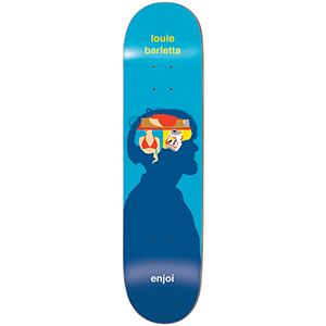 enjoi Barletta Brain Waves R7 Skateboard Deck 8.25