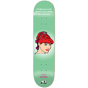 enjoi Barletta Codependent Behavior R7 Skateboard Deck 8.0