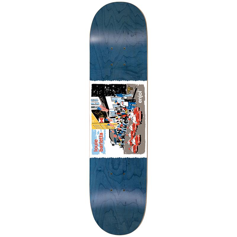 enjoi Barletta Dog Pooper Shriners R7 Skateboard Deck 8.0