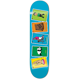 enjoi Barletta La Loteria 2 R7 Skateboard Deck Barletta 8.25