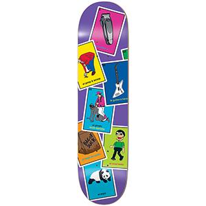 enjoi Barletta La Loteria R7 Skateboard Deck 8.25