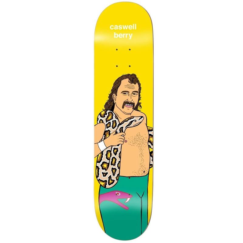 Enjoi Berry Body Slam R7 Skateboard Deck 8.0