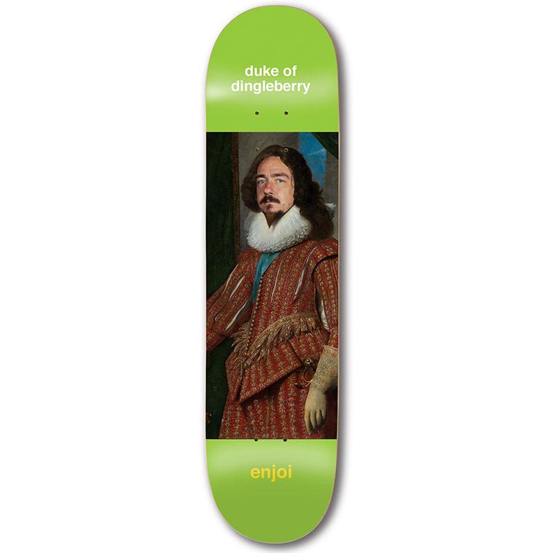 Enjoi Berry Renaissance R7 Skateboard Deck 8.0