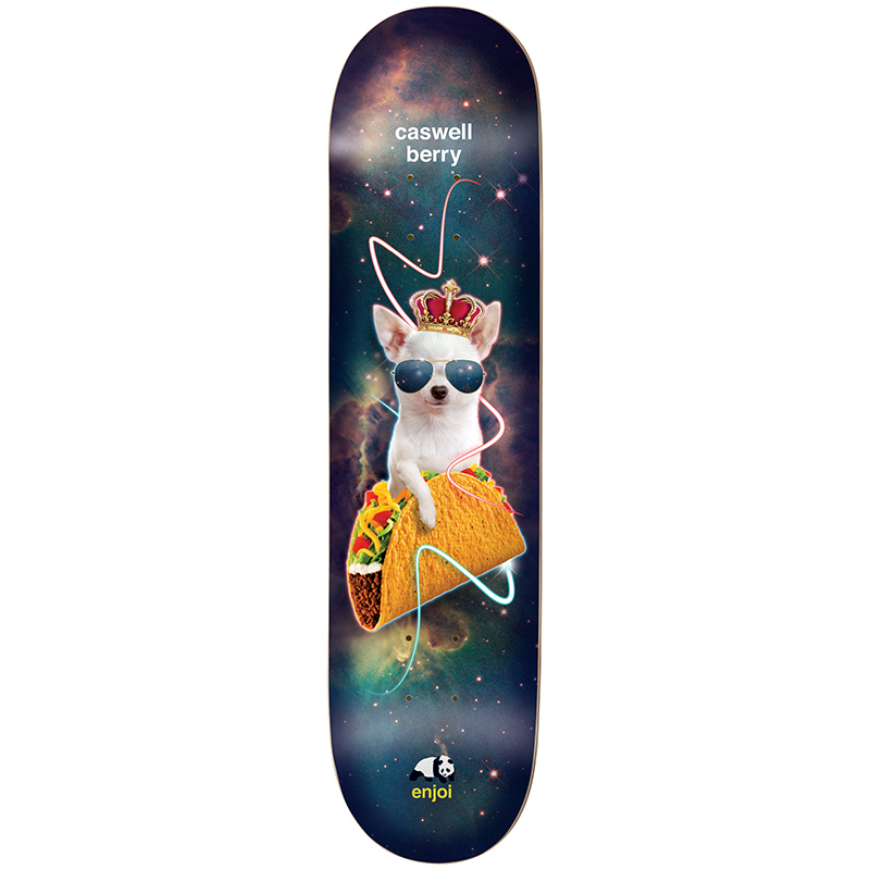 enjoi Berry Snack Surfers V2 Impact Light Skateboard Deck 8.0