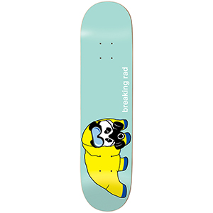 enjoi Breaking Rad R7 Skateboard Deck Pastel Green 8.5