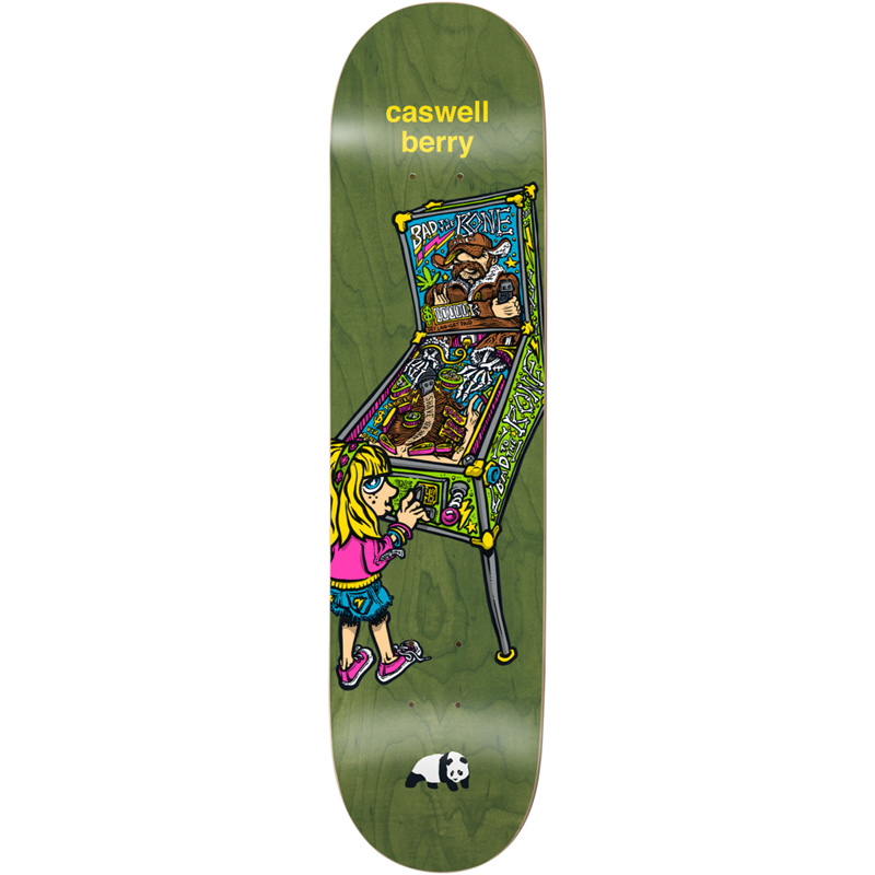 Enjoi Caswell Berry What's The Deal R7 Skateboard Deck 8.25