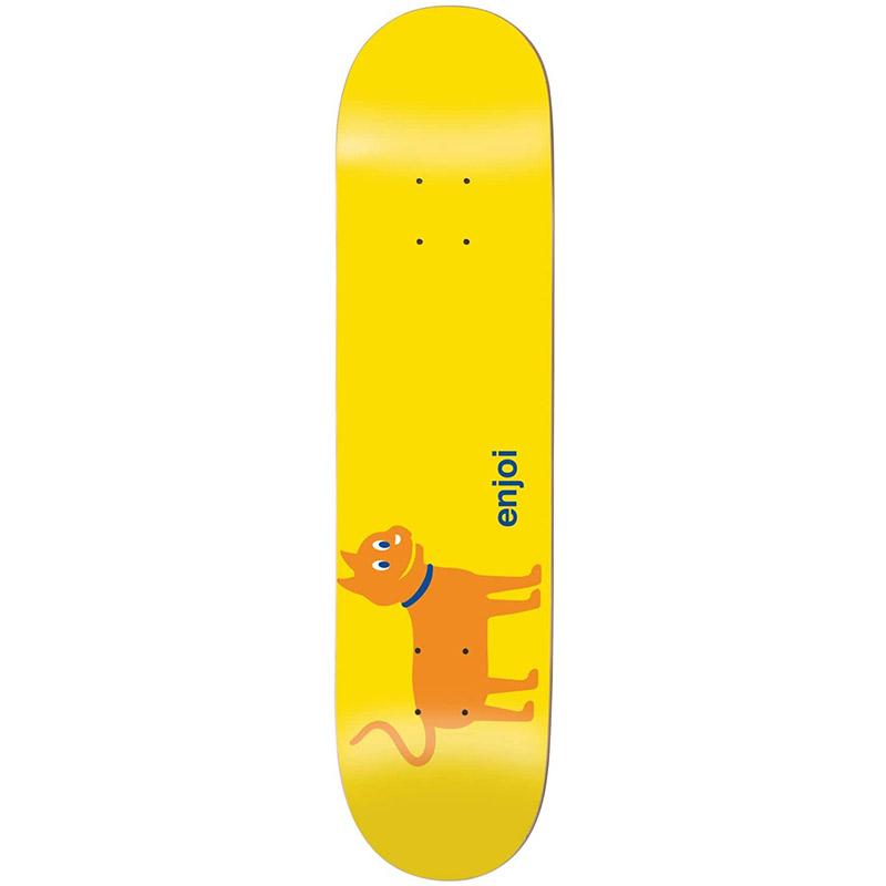 Enjoi Cat R7 Skateboard Deck Orange 8.25