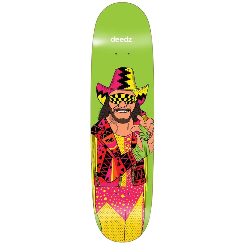 Enjoi Deedz Body Slam R7 Skateboard Deck 8.375