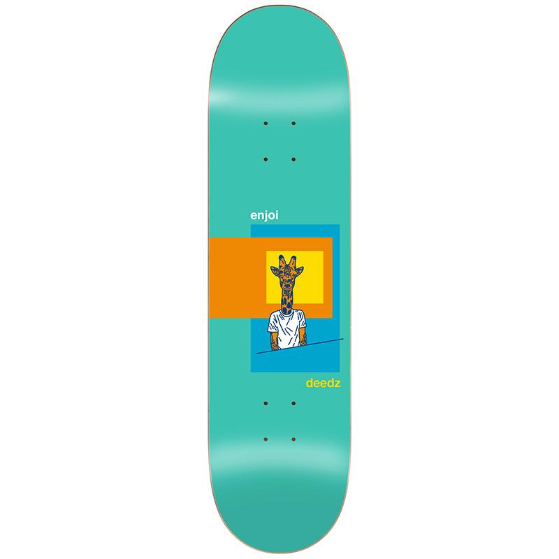Enjoi Deedz Skart R7 Skateboard Deck 8.125