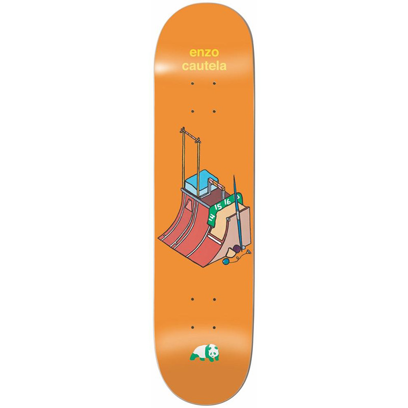 Enjoi Enzo Go For The Gold R7 Skateboard Deck 8.625