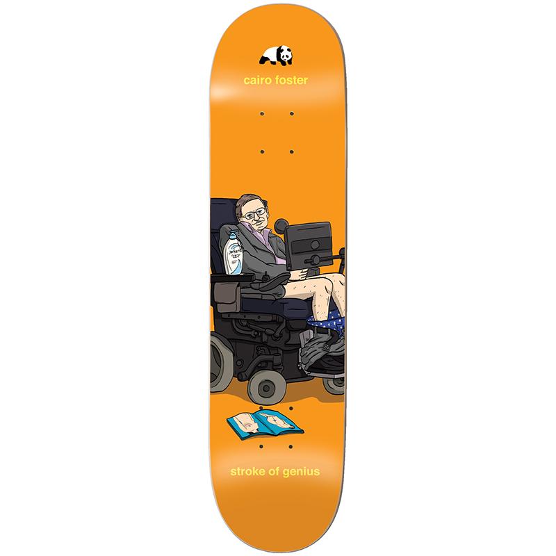 Enjoi Foster Stroke of Genius Skateboard Deck 8.0