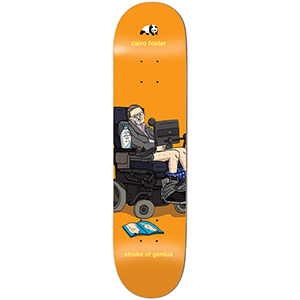 Enjoi Foster Stroke of Genius Skateboard Deck 8.0