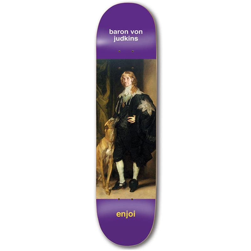 Enjoi Judkins Renaissance Impact Light Skateboard Deck 8.25