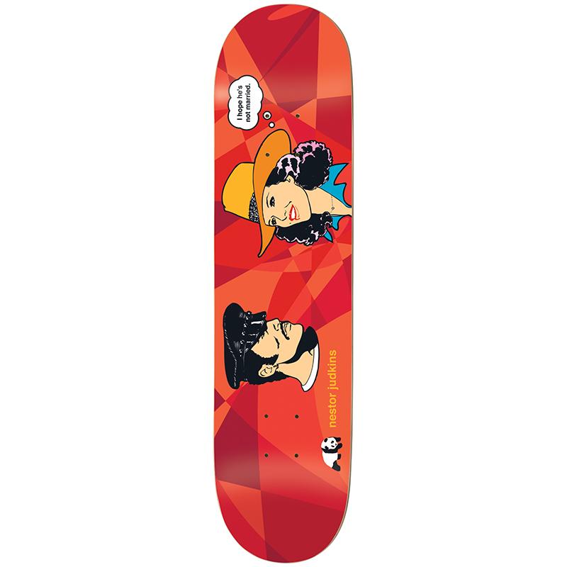 enjoi Judkins Suburban Outfitters Skateboard Deck 8.25