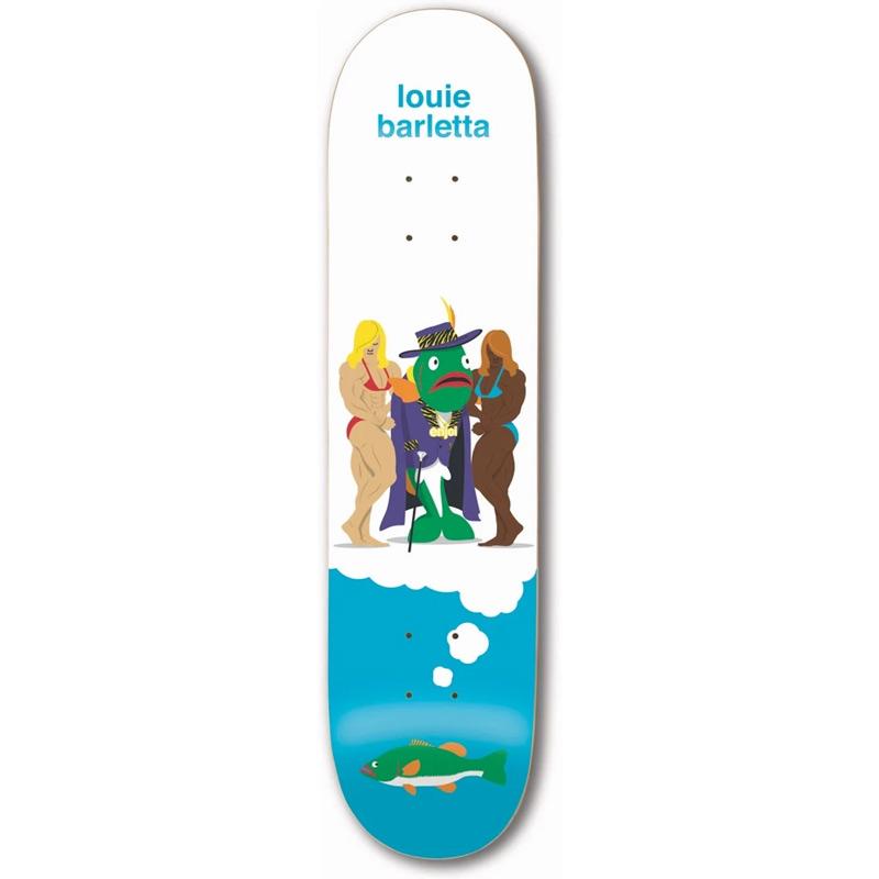 Enjoi Louie Barletta Big Dreams Impact Light Skateboard Deck 8.0