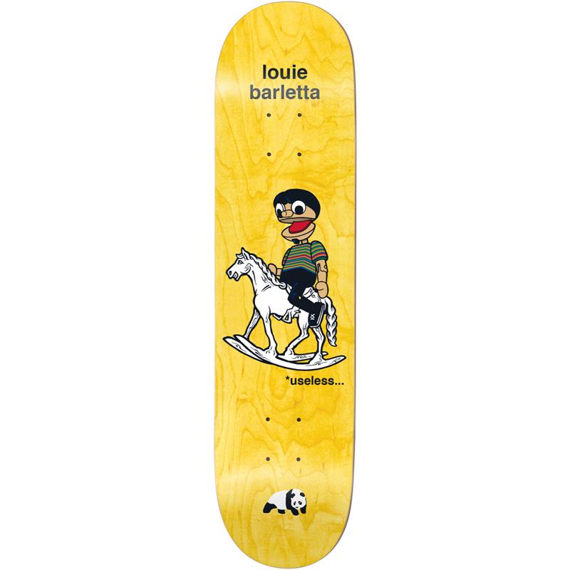 Enjoi Louie Barletta What's The Deal R7 Skateboard Deck 8.375