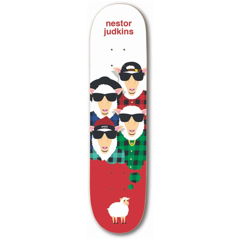 Enjoi Nestor Judkins Big Dreams Impact Light Skateboard Deck 8.25