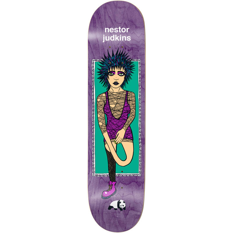 Enjoi Nestor Judkins What's The Deal R7 Skateboard Deck 8.125