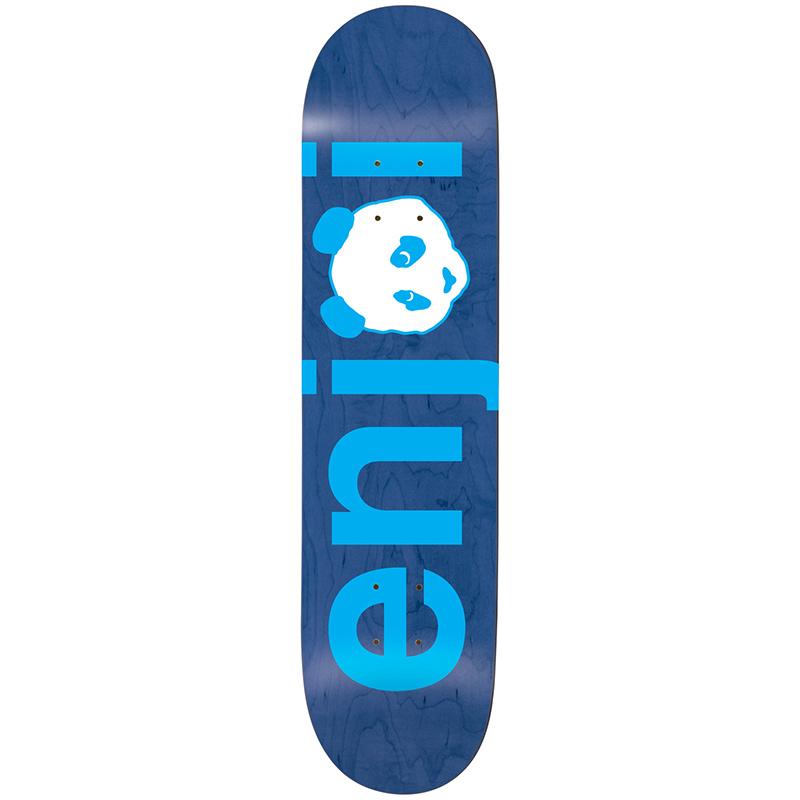 Enjoi No Brainer Blue HYB Skateboard Deck 8.0