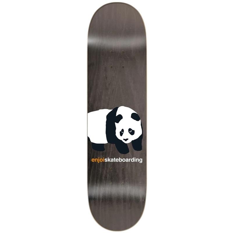 Enjoi Peekaboo Panda R7 Skateboard Deck Grey 8.0