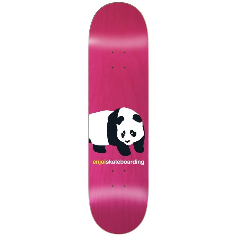 Enjoi Peekaboo Panda R7 Skateboard Deck Pink 8.5