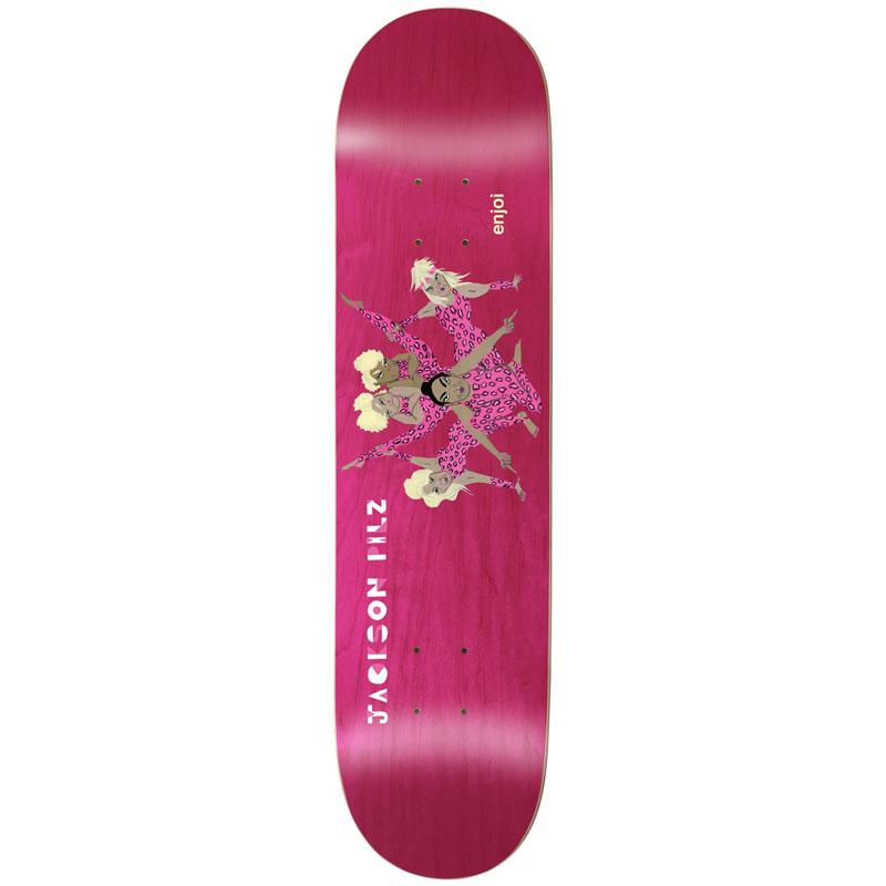 Enjoi Pilz Over Board R7 Skateboard Deck 8.125