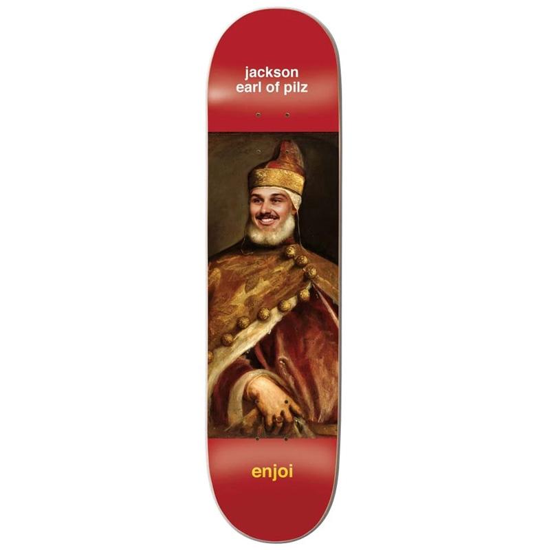 Enjoi Pilz Renaissance Impact Light Skateboard Deck 8.25