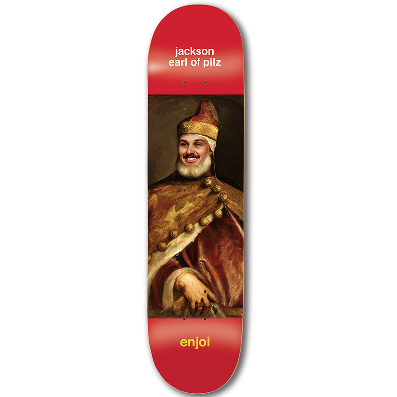 Enjoi Pilz Renaissance R7 Skateboard Deck 8.5
