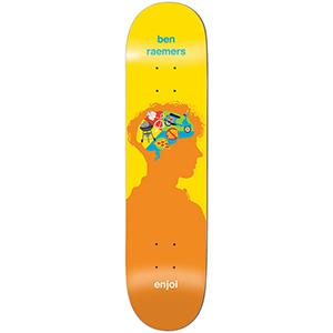 enjoi Raemers Brain Waves R7 Skateboard Deck 8.5