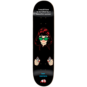 enjoi Raemers Codependent Behavior R7 Skateboard Deck 8.25