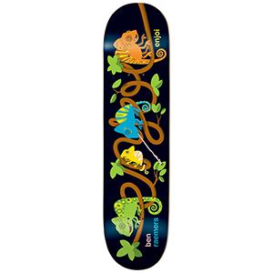 enjoi Raemers Intertwined Impact Light Skateboard Deck 8