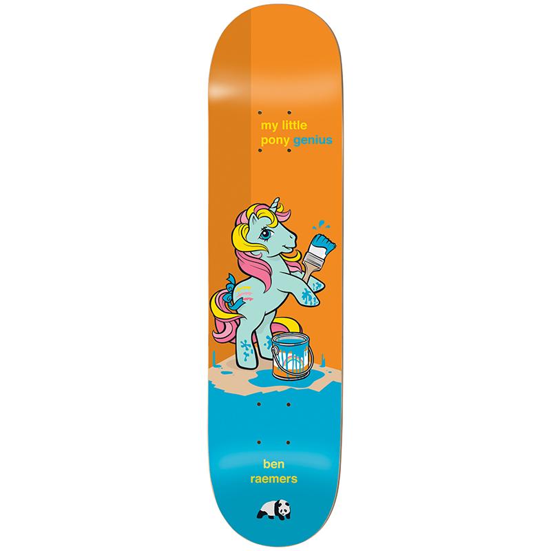 enjoi Raemers My Little Pony The Thrid Impact Light Skateboard Deck 8.0