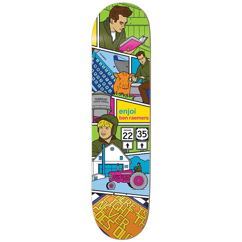 Enjoi Raemers Veejay R7 Skateboard Deck 8.125