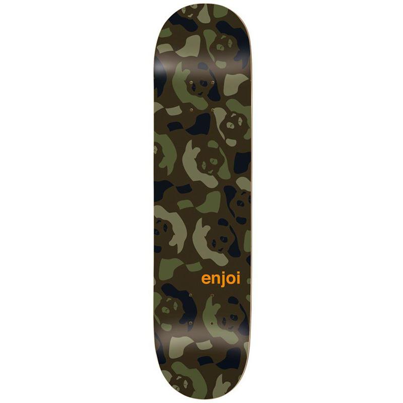 enjoi Repeater HYB Skateboard Deck Green/Camo 8.375