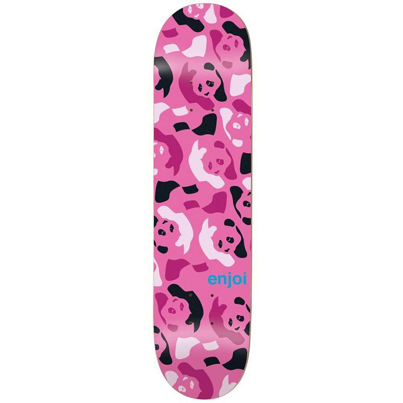 enjoi Repeater HYB Skateboard Deck Pink/Camo 8.0