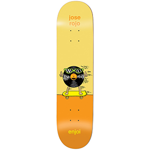enjoi Rojo Dingleballdom R7 Skateboard Deck 8.25