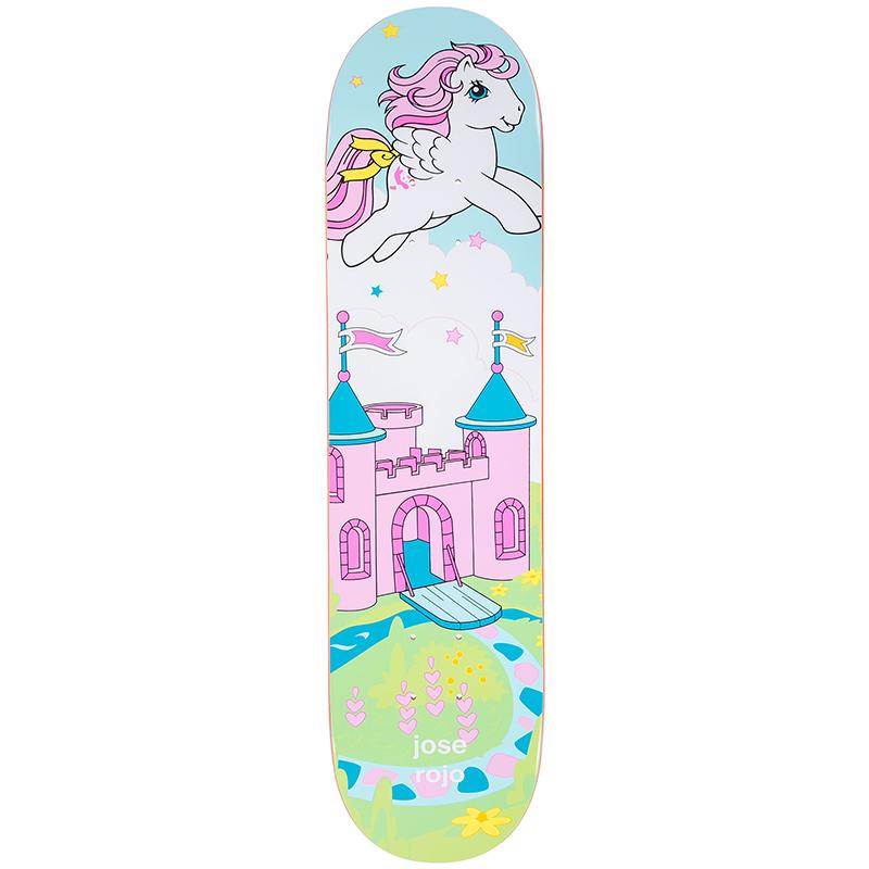 enjoi Rojo My Little Pony Cool World Skateboard Deck 7.75