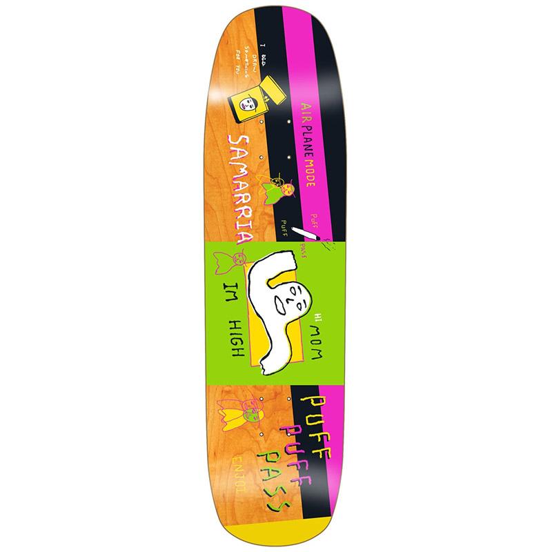 Enjoi Samarria Brevard Doodle R7 Skateboard Deck 8.375
