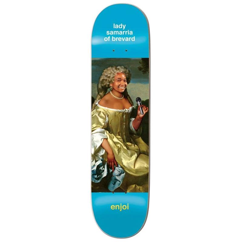 Enjoi Samarria Renaissance R7 Skateboard Deck 8.375