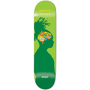 enjoi Samarrie Brain Waves R7 Skateboard Deck 8.0